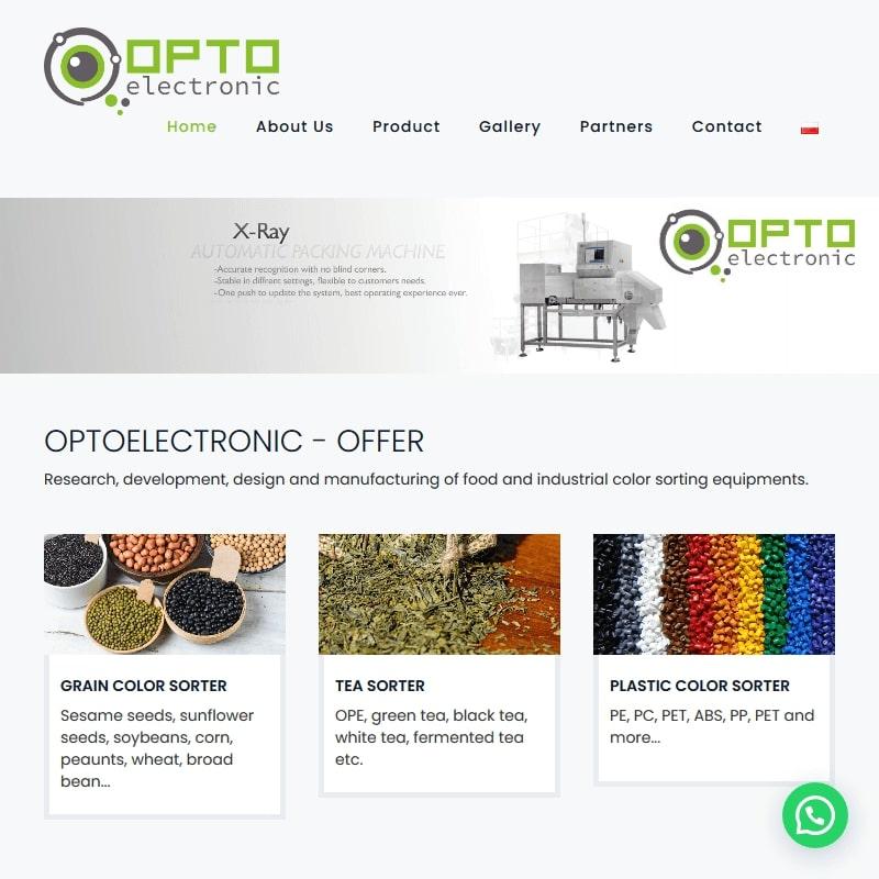 Sortowniki optyczne do dyni i zbóż