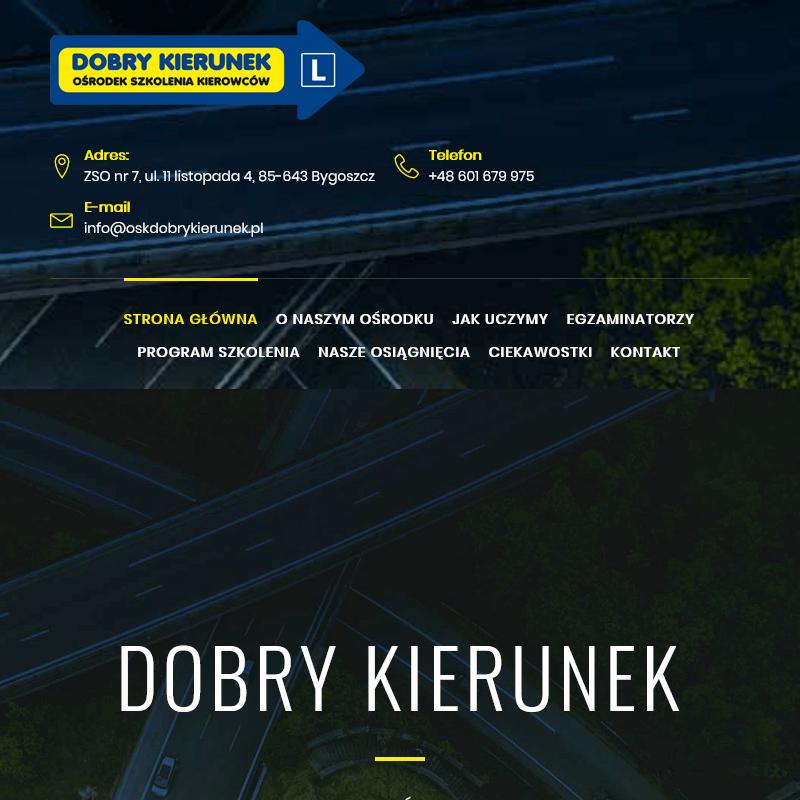 Doszkalanie kierowców w Bydgoszczy