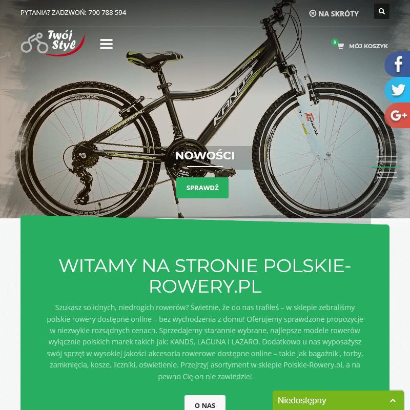 Liczniki rowerowe online