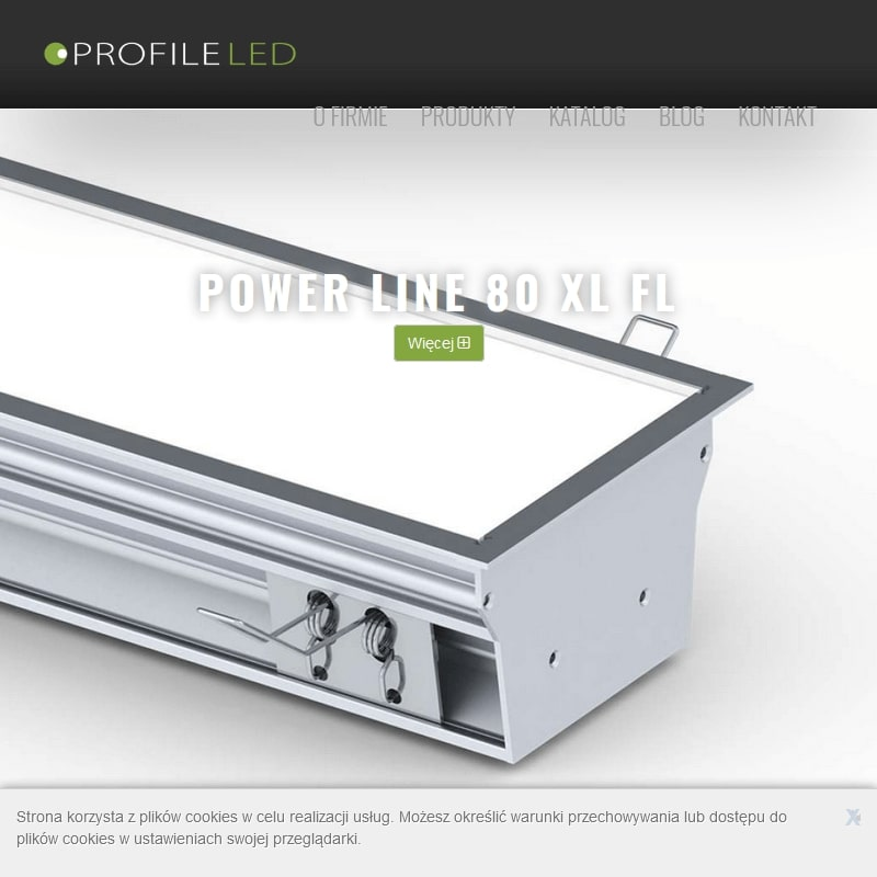 Profile LED aluminiowe
