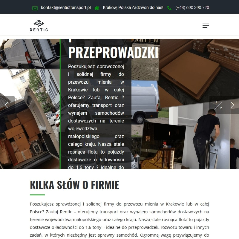 Usługi przeprowadzkowe – Kraków