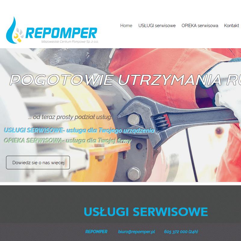 Serwis pomp - Warszawa