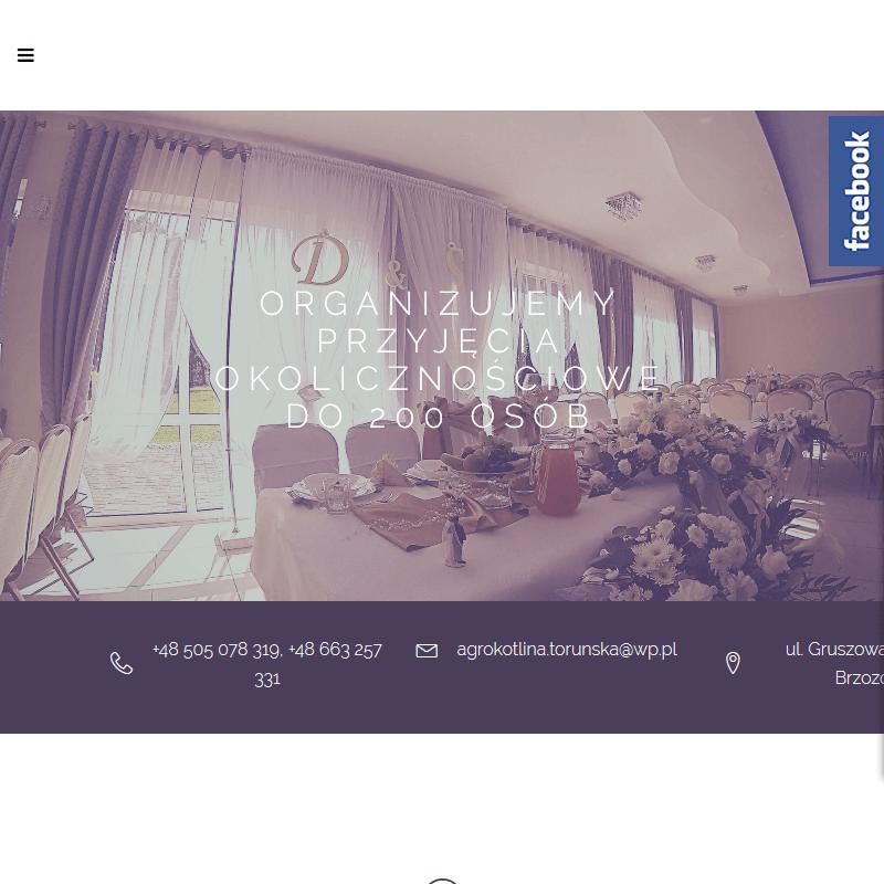 Sala weselna z klimatyzacją - Toruń