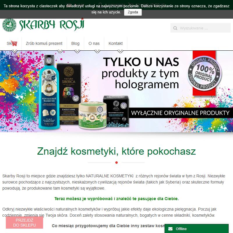Rosyjskie kosmetyki naturalne