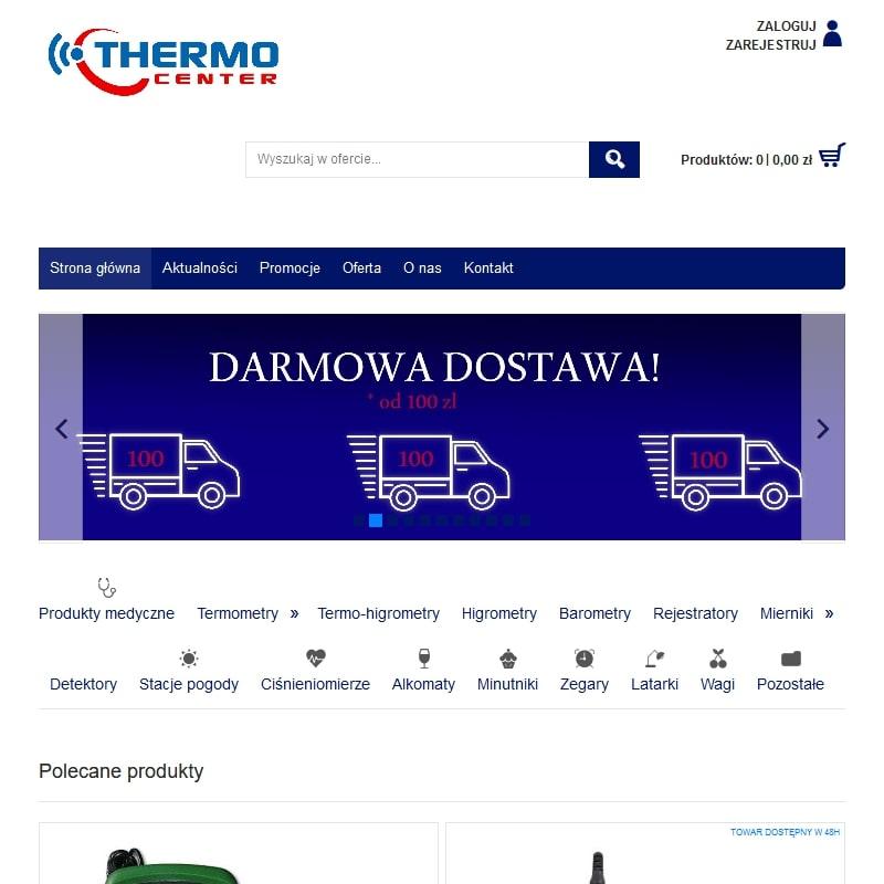Detektory gazu i pirometry bezdotykowe