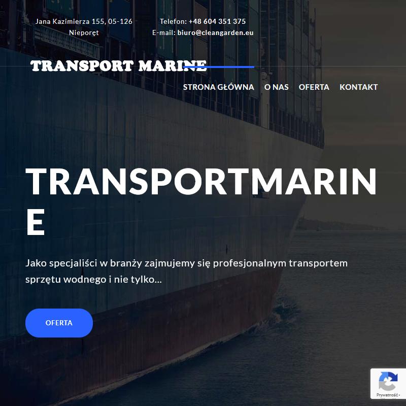 Transportowanie motorówek i jachtów
