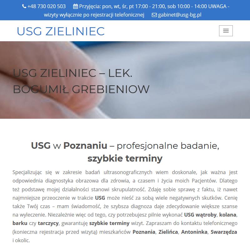 USG tkanek miękkich - Poznań