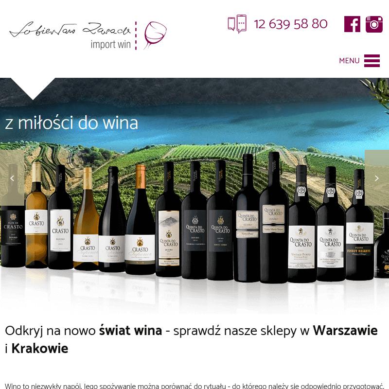 Wina argentyńskie, włoskie i portugalskie