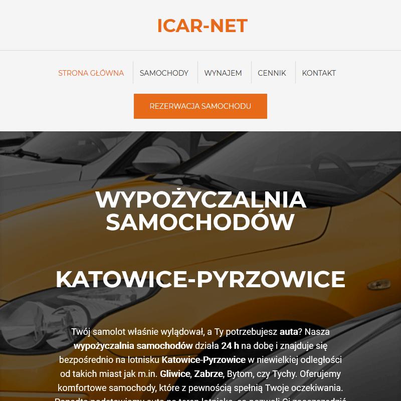 Rezerwacja aut - Katowice Pyrzowice