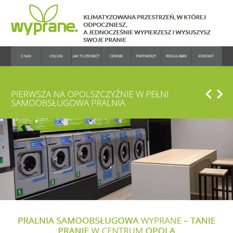 Pranie samoobsługowe - Opole